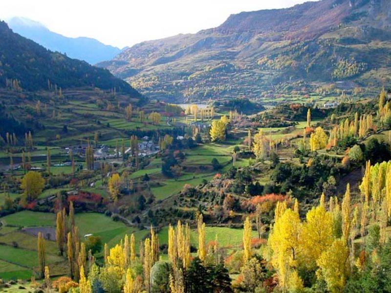 valle de tena otoño
